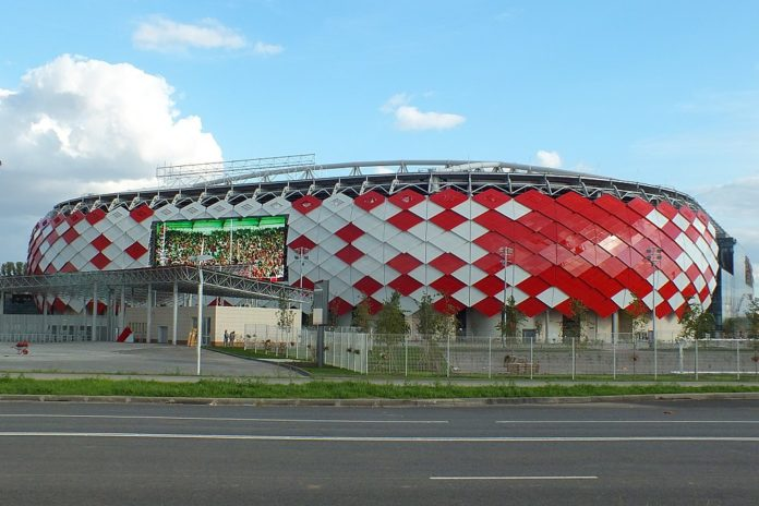 Spartak Stadium Russia World Cup