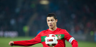 Why Cristiano Ronaldo stroked his chin after scoring past David De Gea?