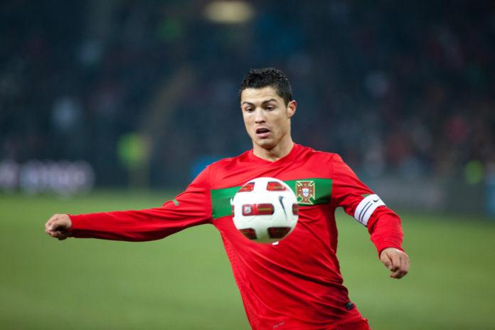 Why Cristiano Ronaldo stroked his chin after scoring past David De Gea?