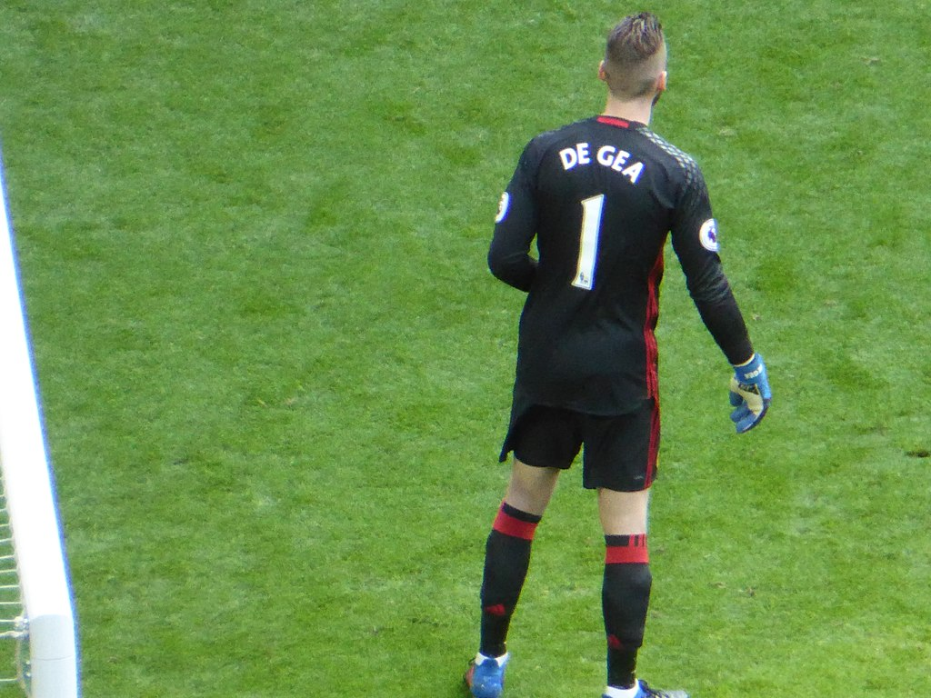 David De Gea Man United Spain