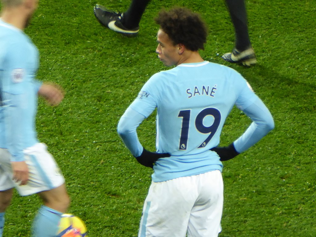 Leroy Sane: I´m on the right side of Manchester