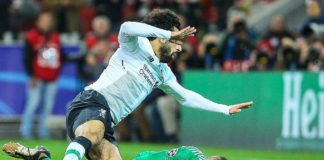Mo Salah Man United vs Liverpool