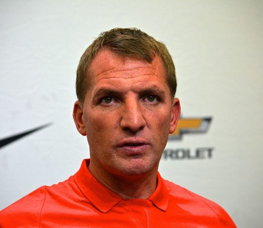 Brendan Rodgers Liverpool vs Leicester City