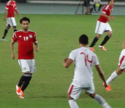 Egypt's line-up vs Uruguay