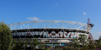 West Ham United London Stadium England football