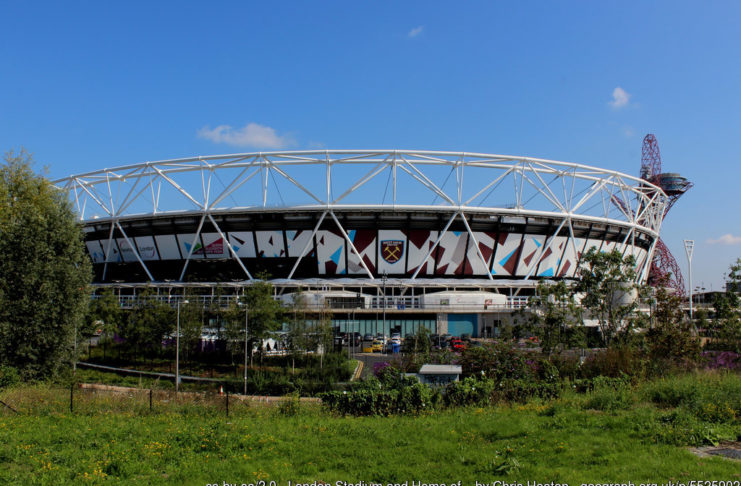 West Ham United London Stadium England EPL