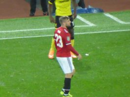 Man United Luke Shaw EPL