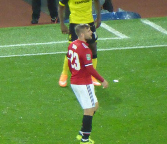 Man United Luke Shaw