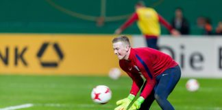 Jordan Pickford England and Everton