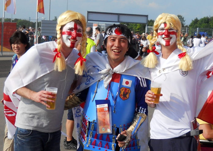 Benidorm England fans