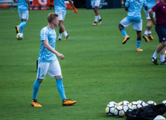 Premier League Player of the Season Kevin De Bruyne Man City