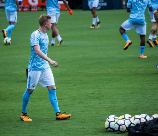 Kevin De Bruyne Man City