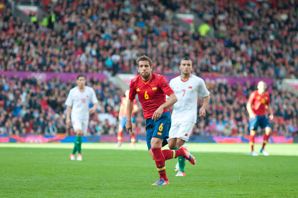 Man United are eyeing a move for Jordi Alba