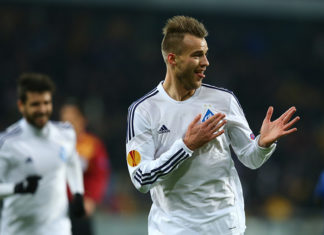 Yarmolenko's injury