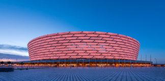 UEFA Europa League final Baku Olympic Stadium Azerbaijan