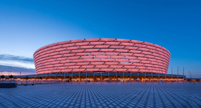 UEFA Europa League final Baku Olympic Stadium Azerbaijan