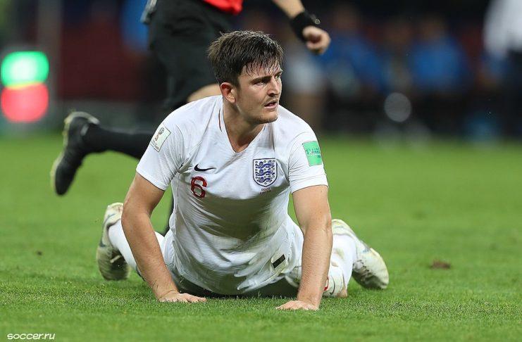 Harry Maguire England Man United England