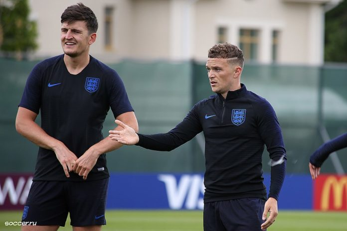 Harry Maguire and Kieran Trippier