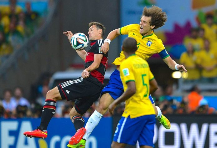 David Luiz Arsenal Brazil