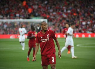 Fabinho Man United vs Liverpool