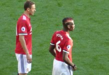 Paul Pogba and Nemanja Matic Man United vs Arsenal
