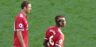 Paul Pogba and Nemanja Matic Man United