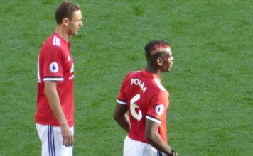 Paul Pogba and Nemanja Matic Man United vs Arsenal