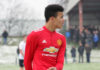 Mason Greenwood Man United vs Liverpool