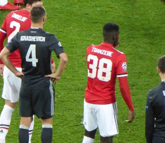 Axel Tuanzebe & Victor Lindelof Man United