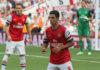 Mikel Arteta playing for Arsenal