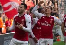 Sead Kolasinac and Hector Bellerin Arsenal