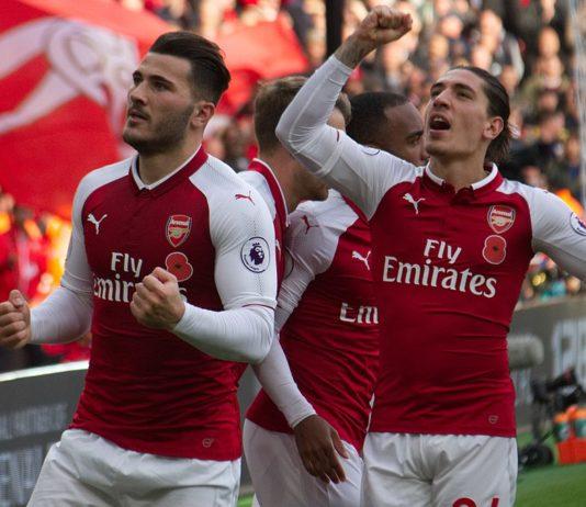 Sead Kolasinac and Hector Bellerin Arsenal