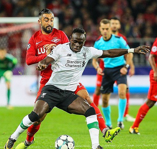 Liverpool vs Man United Sadio Mane Liverpool