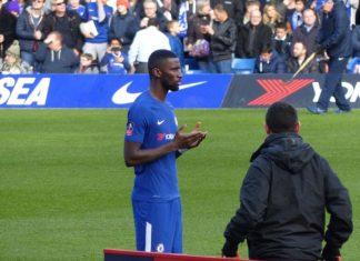 Frank Lampard Antonio Rudiger Chelsea