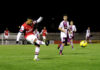 Serge Gnabry playing for Arsenal