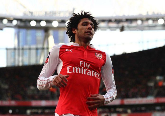 Mohamed Elneny Arsenal EPL