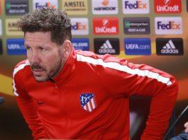 Saul Niguez Atletico Madrid Diego Simeone