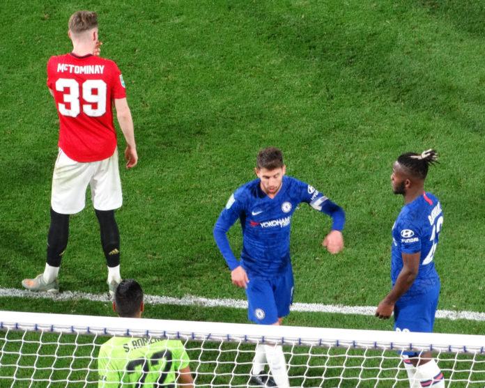 McTominay Jorginho Michy Batshuayi Chelsea Man United