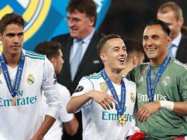 Lucas Vazquez & Raphael Varane Real Madrid