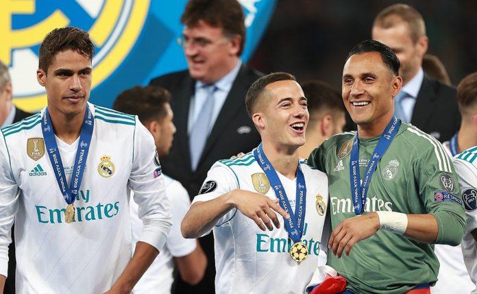 Lucas Vazquez & Varane Real Madrid