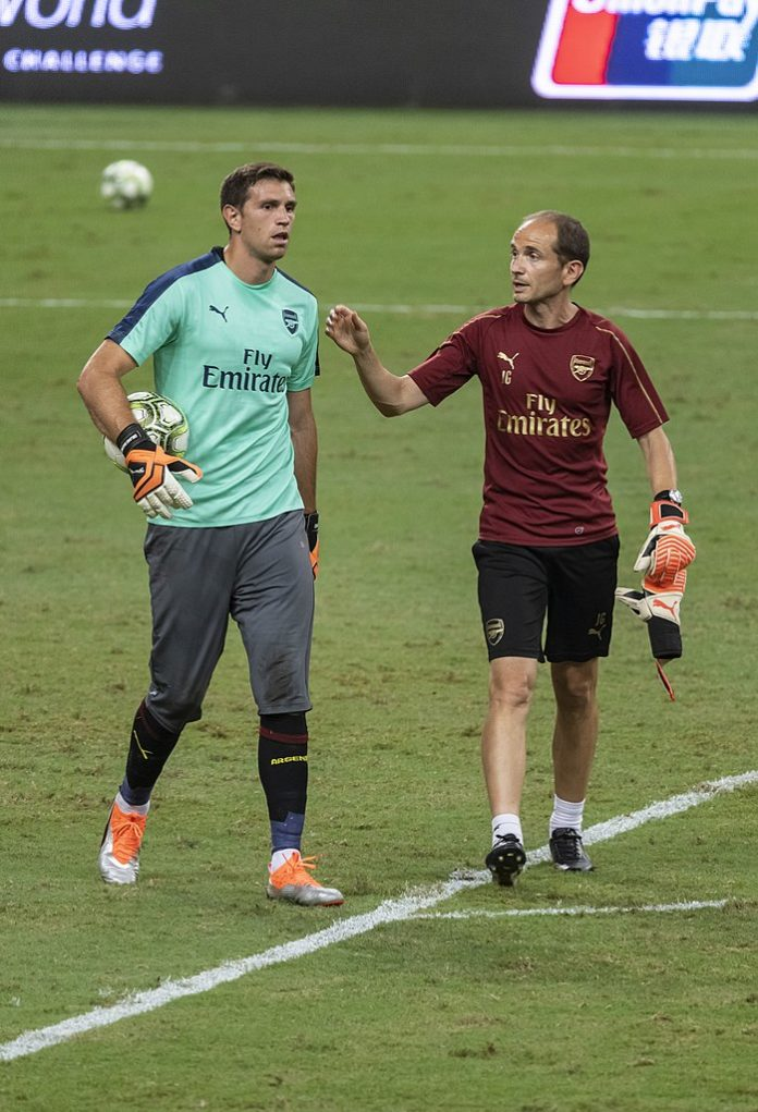Emiliano Martinez Arsenal