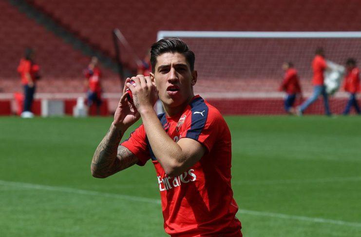 Hector Bellerin Arsenal FC