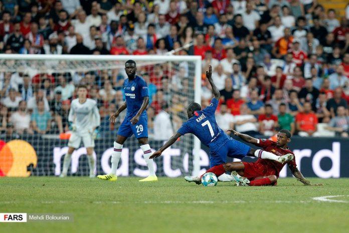 Fikayo Tomori, Kante & Wijnaldum Liverpool vs Chelsea
