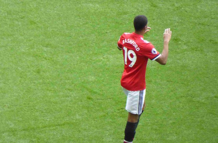 Marcus Rashford Man United EPL