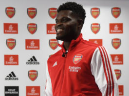 Thomas Partey Arsenal FC
