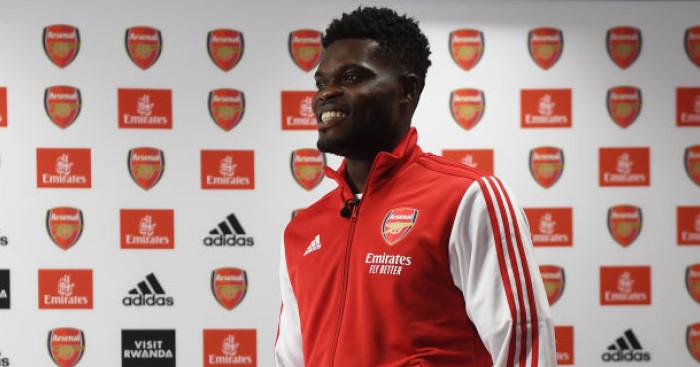 Thomas Partey Arsenal FC