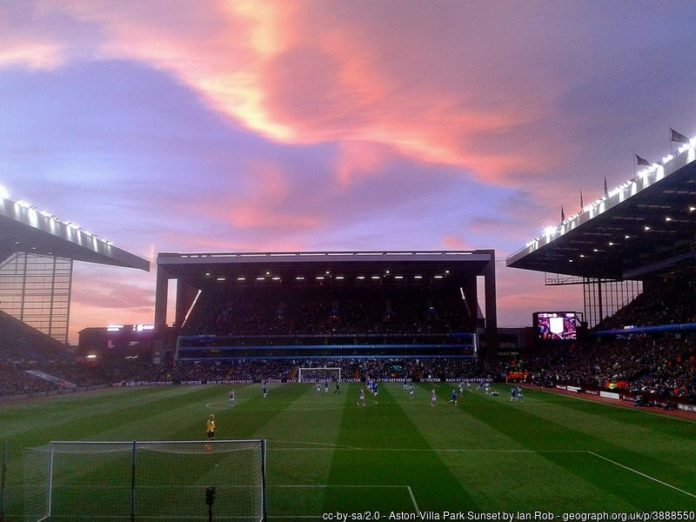 Emi Martinez Aston Villa FC Villa Park