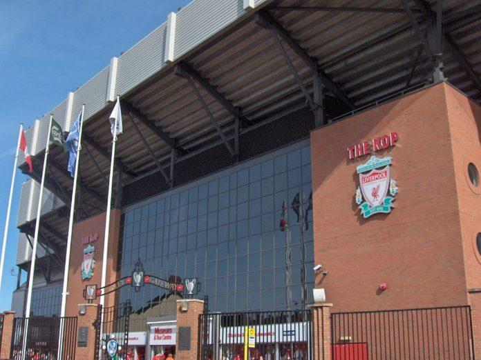 Alex Oxlade Liverpool Anfield