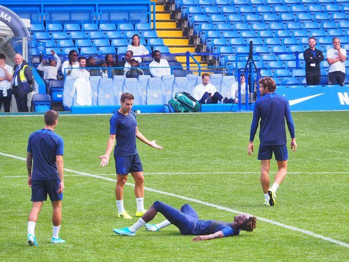 Tammy Abraham, Cesar Azpiliceuta Chelsea Premier League