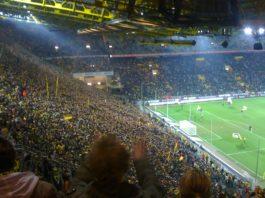 Jadon Sancho Signal Iduna Park Borussia Dortmund